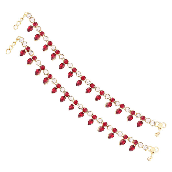 Traditional  Gold Plated Payal / Anklets
