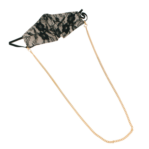 Gold Plated Multipurpose Mask Chain (Mask not included)