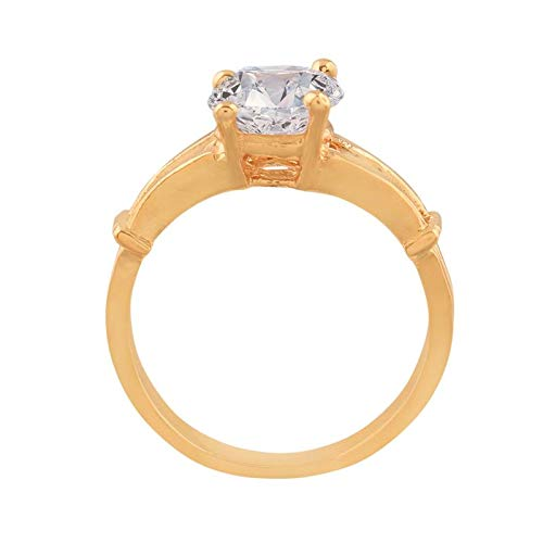 CZ Solitaire Ring for Women