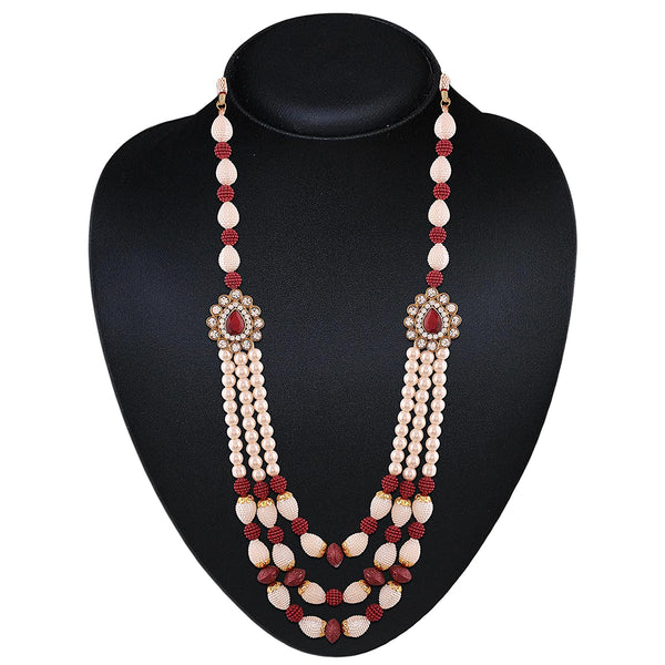 Traditional Grooms Moti Mala/ Necklace  for Men
