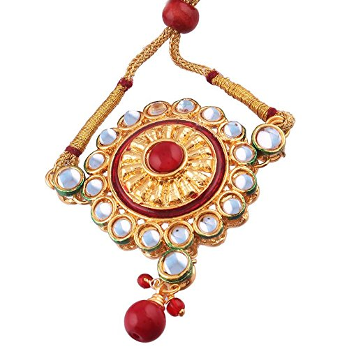 Gold Plated Kundan Bajubandh Jewellery Set for Women (PB06R)