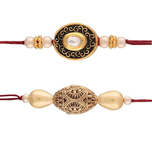 Designer Combo Set of 2 Rakhis