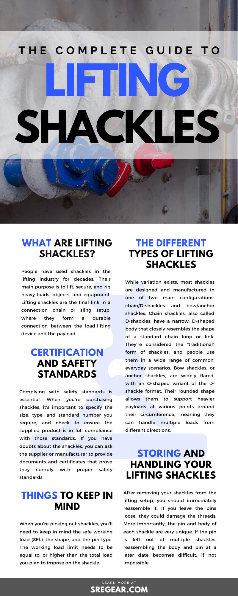 Guide To Lifting Shackles