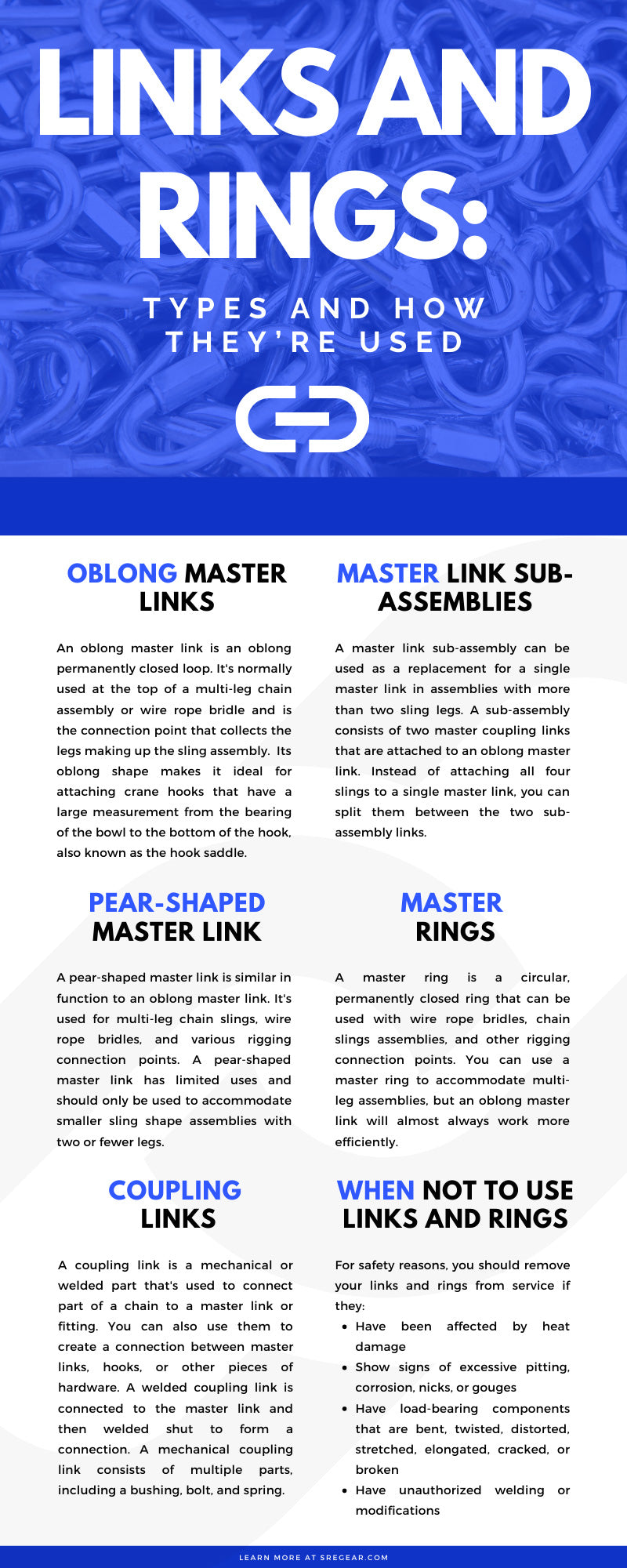 Links and Rings: Types and How They're Used