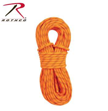 "Rothco 259 7/16"" X 150' Orange Rescue Rappelling Static Line"