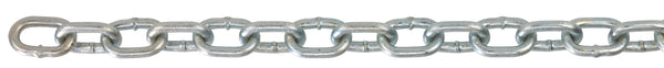 "H0110-0411 Peerless 1/4"" Grade 30 Import Proof Coil Chain (per foot)"