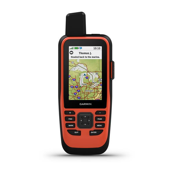 Garmin GPSMAP® 86i with inReach and Worldwide Basemap