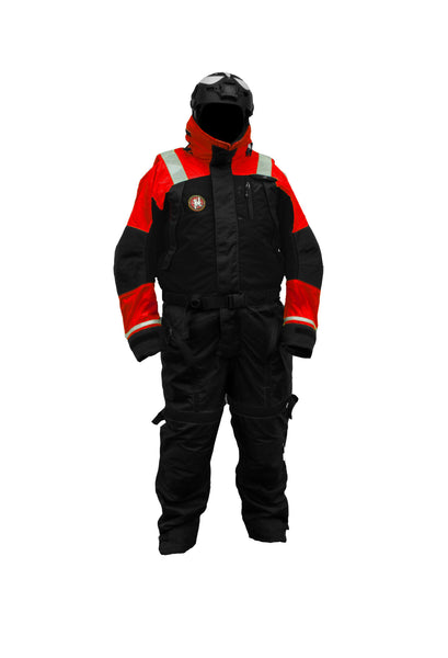 First Watch AS-1100 Anti-Exposure Flotation Suit Red/Black