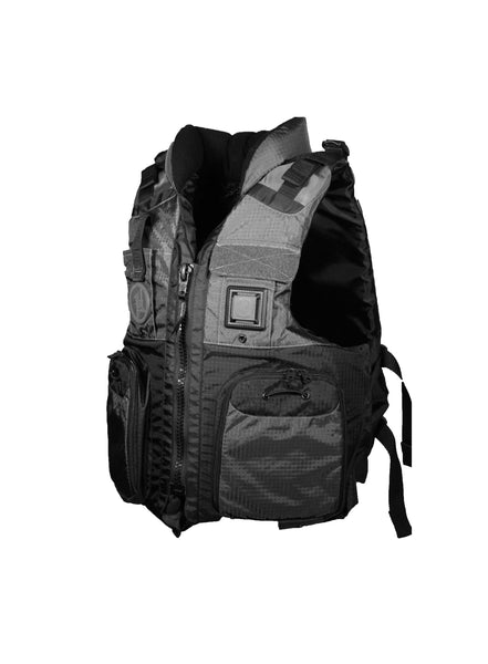 First Watch AV-800 Pro 4-Pocket Vest (USCG Type III) - Black