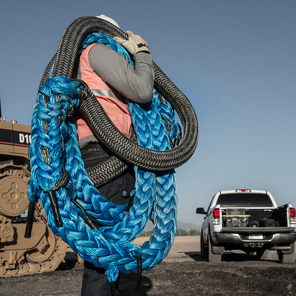 Custom Amsteel-Blue Recovery Ropes (1,400lb - 750,000lb)