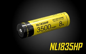 Nitecore 1835HP 3500mAh High Performance Li-ion 18650 Battery