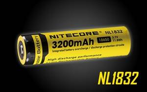 NITECORE NL1832 (NL188) 3200mAh Rechargeable 18650 Battery