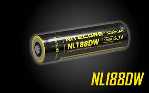 NITECORE NL188DW Rechargeable 18650 Battery for R25 Flashlights