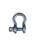 Galvanized Screw Pin Anchor Shackles Up To 1 Ton WLL