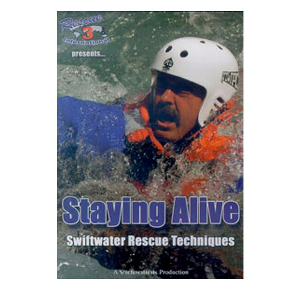 Staying Alive: Swiftwater Rescue Techniques DVD