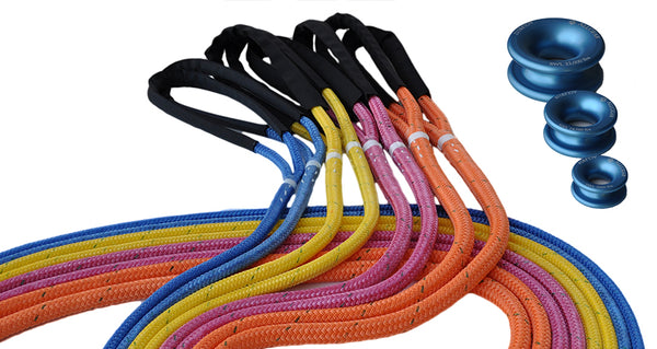 Husky Bull Rope Dead Eye Sling - Low Friction Rings Available