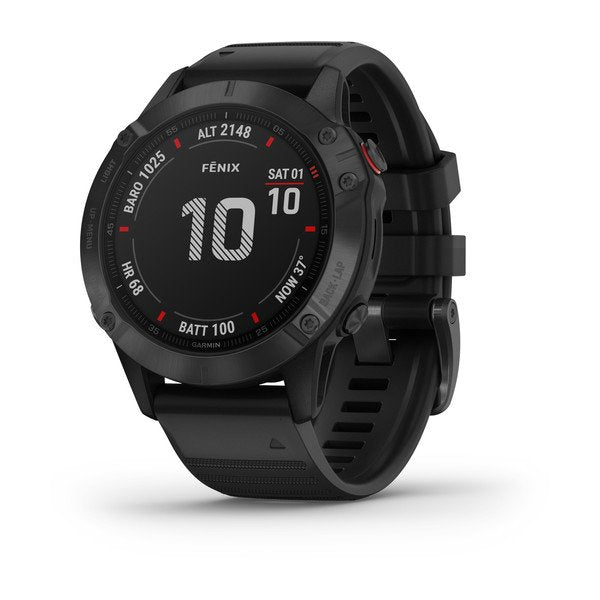 Garmin fēnix® 6 - Pro Black w/Black Band GPS Watch