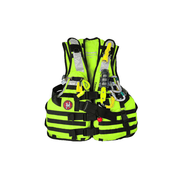 First Watch HBV-100 High Buoyancy Type V Rescue Vest - Medium-X-Large - Hi-Vis Yellow