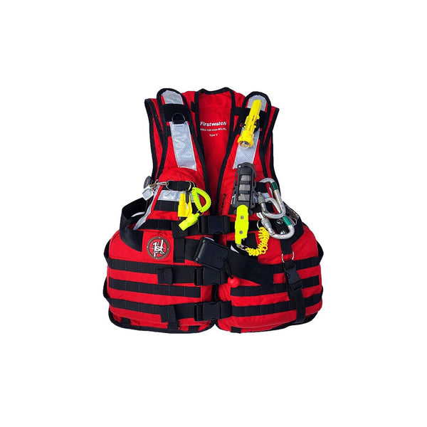 First Watch HBV-100 High Buoyancy Type V Rescue Vest - Red