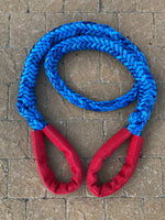 "1-3/4"" X 13'L Amsteel-Blue Recovery Sling w/HD Chafe Guard 335,000 LB Average Strength"