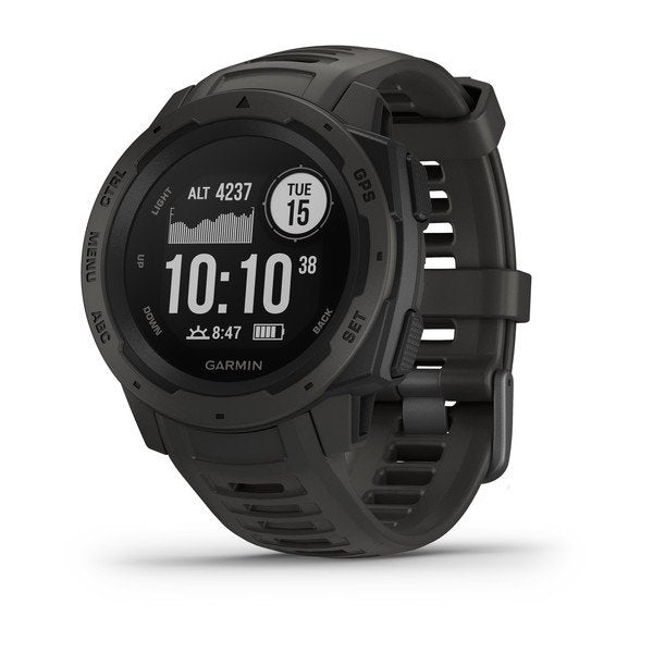 Garmin Instinct® Graphite GPS Watch