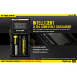 Nitecore D2 Digicharger Universal Charger 18650 RCR123A 17650 17670 14500 AA AAA