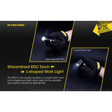 NITECORE MT21C 1000 Lumen Multitask 90 Degree Adjustable Flashlight