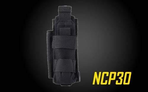 Nitecore NCP30 Holster for Nitecore P20 and P20V Precision Flashlights, Fits Most Nitecore