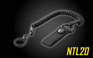 Nitecore NTL20 Tactical Lanyard with Belt Strap for Nitecore Flashlights