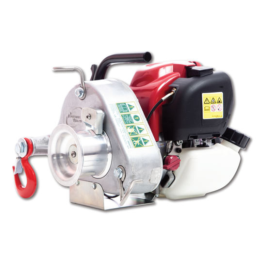 PCW3000 GAS-POWERED PULLING WINCH GX35