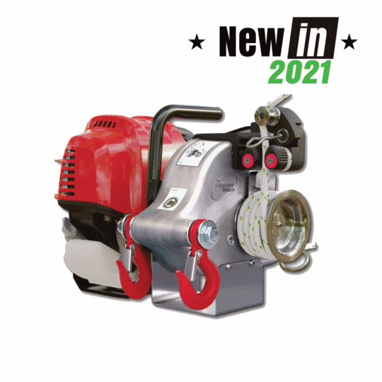 PCW4000 GAS-POWERED PULLING WINCH GX50
