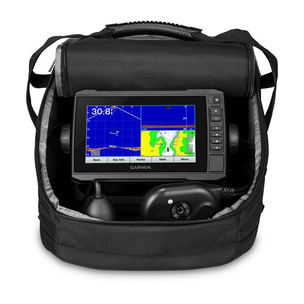 Garmin Panoptix™ PS22 Ice Fishing Bundle w/UHD 93sv Sonar