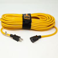 Firman 50-Foot 14-Gauge Outdoor Heavy-Duty Extension Cord w/ Storage Strap Model 2010