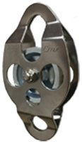 "CMI 2-3/8"" SS ""Cable-Able"" Double-Ended Bushing Pulley (RC105)"