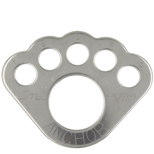 CMI NFPA Compliant Stainless Steel Bearpaw Rigplate (RIGPLATE2NFPA)