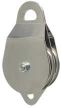 "CMI 4"" NFPA Compliant SS Double Aluminum Sheave HD Pulley (RP124NFPA)"