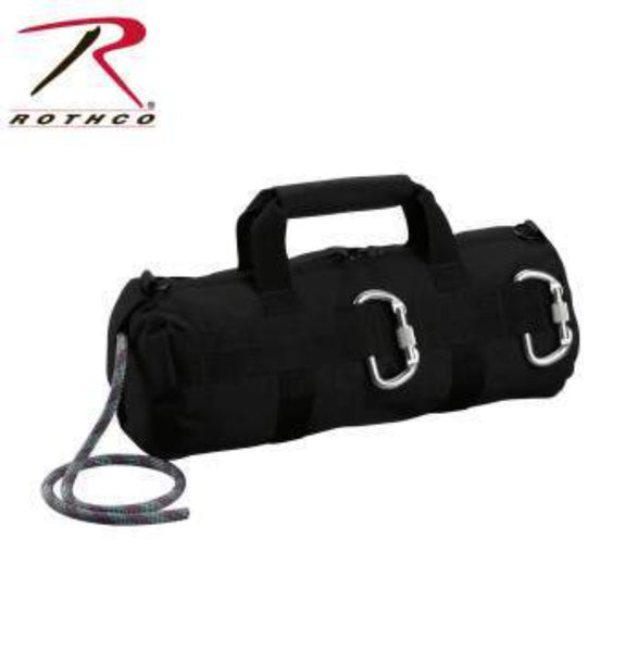 Rothco 8170 Black Stealth Tactical Rappelling Bag