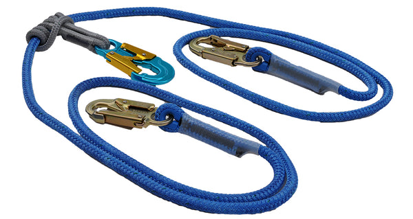 2-in-1 Safety Lanyard Double Braided Polyester Lanyard