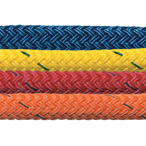 "3/8"" Samson Stable-Braid Urethane Coated (Red, Orange, Blue, or Yellow) 5,600 LB"