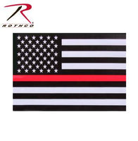 Rothco Thin Red Line Flag Decal