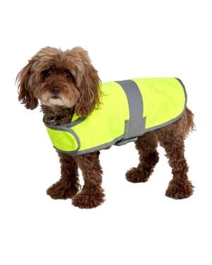 Utility Pro Hi Vis Dog Safety Coat with Fleece Lining UHV896