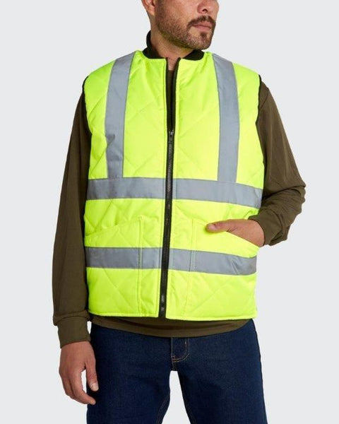 Utility Pro Hi-Vis WarmUp Insulated Safety Vest UHV919