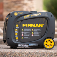 Firman W03381 - 3300 Watt Whisper Series Portable Inverter Generator w/ RV Outlet (CARB)