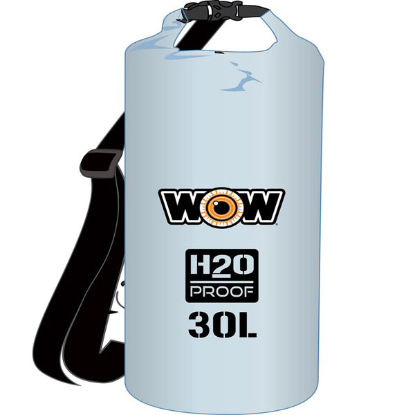 WOW Watersports H2O Proof Dry Bag - Clear 30 Liter