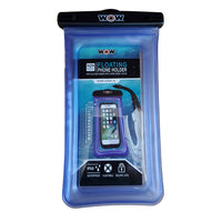 "WOW Watersports H2O Waterproof Smart Phone Holder - 5"" x 9"" - Blue"