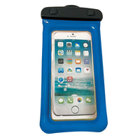 "WOW Watersports H2O Waterproof Phone Holder - Blue 4"" x 8"""
