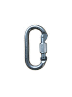 Aluminum Oval Screw Gate Carabiner (BINER4)