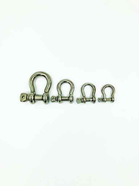 Stainless Steel Screw Pin Shackles