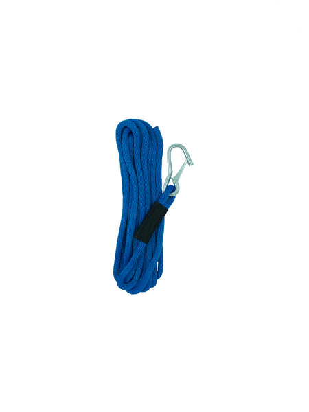 "Solid Braid Launch Line 3/8"" Royal Blue"