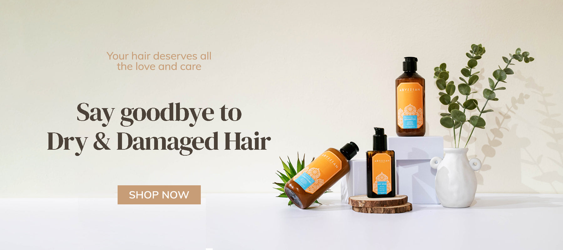 Dry & Damaged Haircare | Plant based haircare | Abyssian